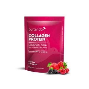 Collagen-Protein-Berries-Silvestres-Puravida-450g