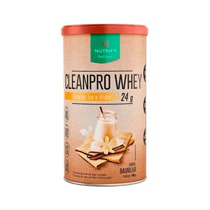 CleanPro-Whey-Baunilha-Nutrify-450g