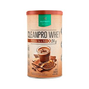 CleanPro-Whey-Cacau-Nutrify-450g